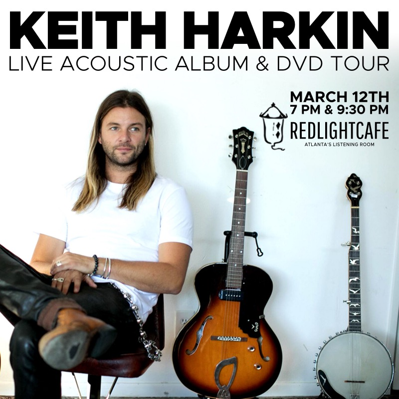 Keith Harkin Live Acoustic Album And Dvd Tour At Red Light Cafe Atlanta Ga 2018 Mar 12th Square