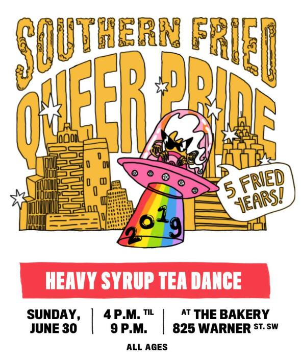 HEAVY SYRUP TEA DANCE: A Day Dance Party