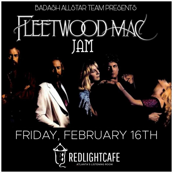 Fleetwood Mac Jam W Badash Allstar Team At Red Light Cafe Atlanta Ga Feb 16 2018 Square