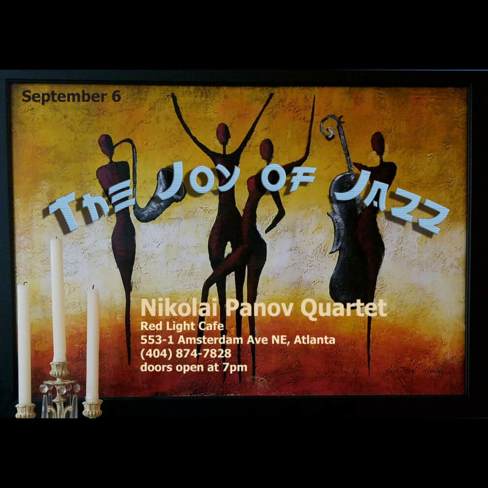 Nikolai Panov Quartet The Joy Of Jazz At Red Light Cafe Atlanta Ga Sep 6 2019 Square