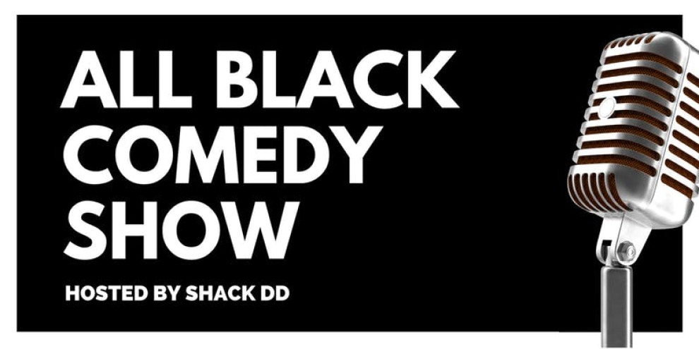 All Black Comedy Show At Red Light Cafe Atlanta Ga Banner