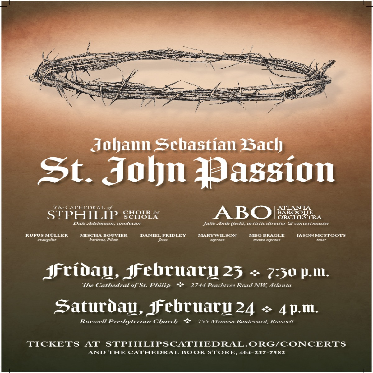 StJohnPassion Poster