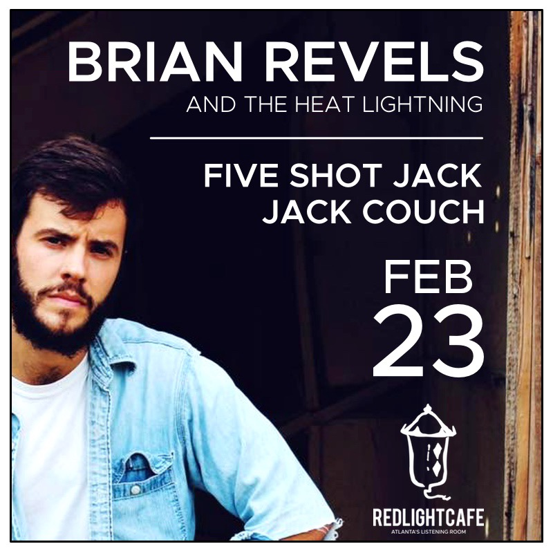 Brian Revels And The Heat Lightning W Five Shot Jack Jack Couch At Red Light Cafe Atlanta Ga Feb 23 2018 Square