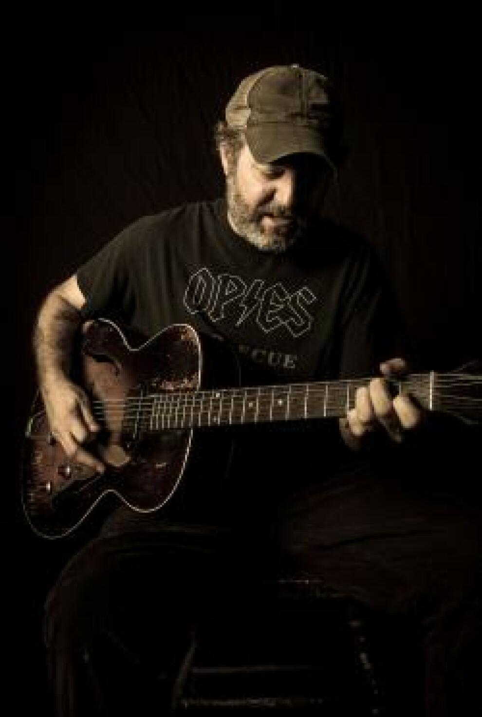 Scott H Biram Guitar Promo Photo By Christopher Cardoza