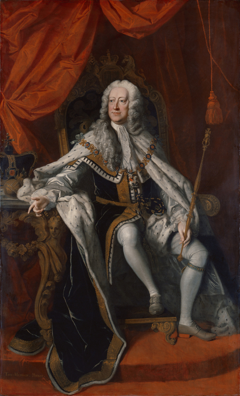 OC George II By Thomas Hudson