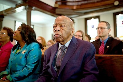 RECONSTRUCTION OF THE FABLED: Congressman John Lewis.