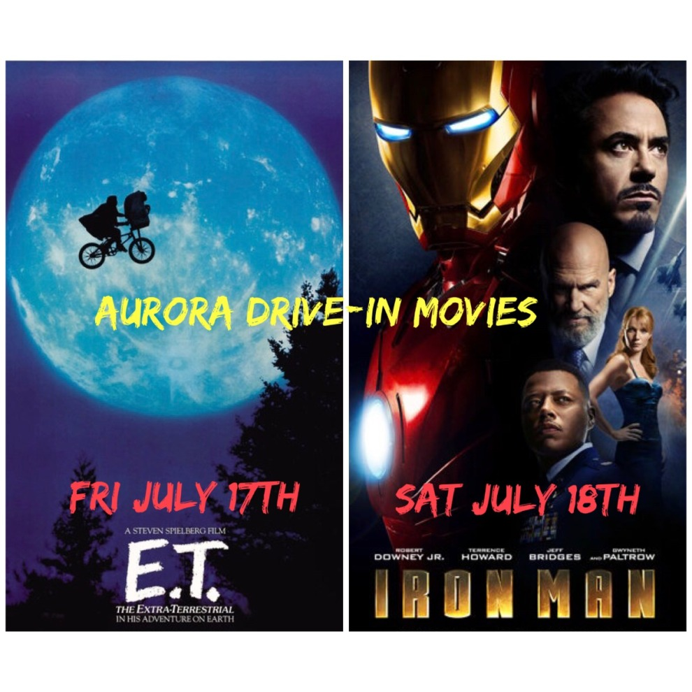 Drive In ET And Iron Man