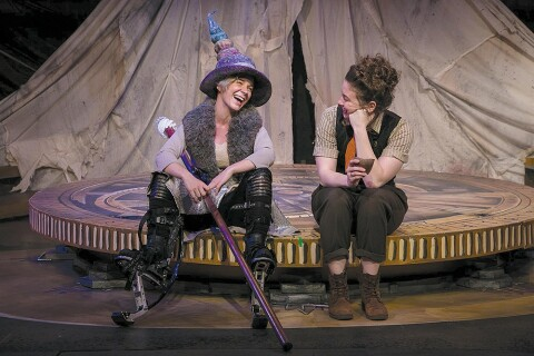 SYNCHRONICITY THEATRE: A scene from 'The Hobbit.' Photo credit: Casey Gardner