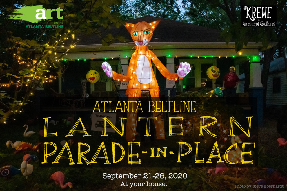 Atlanta BeltLine Lantern Parade In Place 2020 Event Graphic