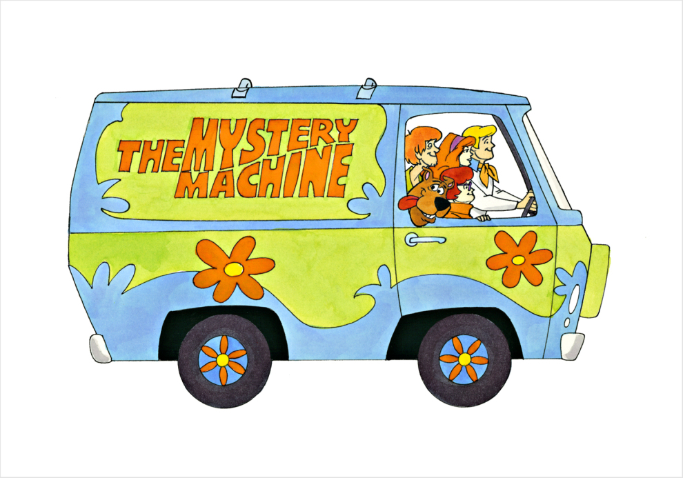 Mystery Machine Ron Campbell