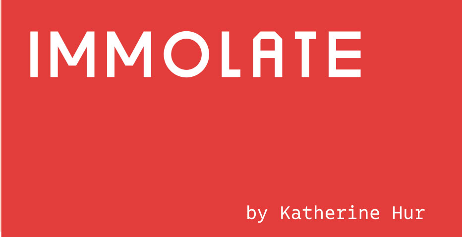 2018 Fiction Issue Immolate
