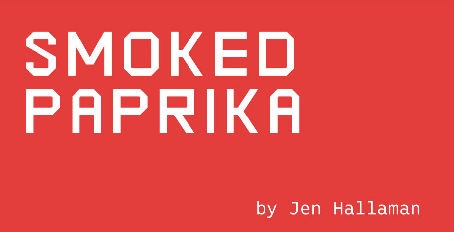 2018 Fiction Issue Smoked Paprika