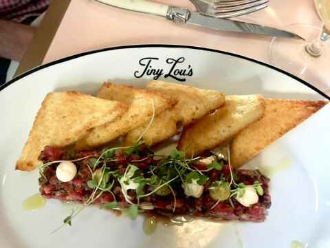 Tiny Lou's Steak Tartare