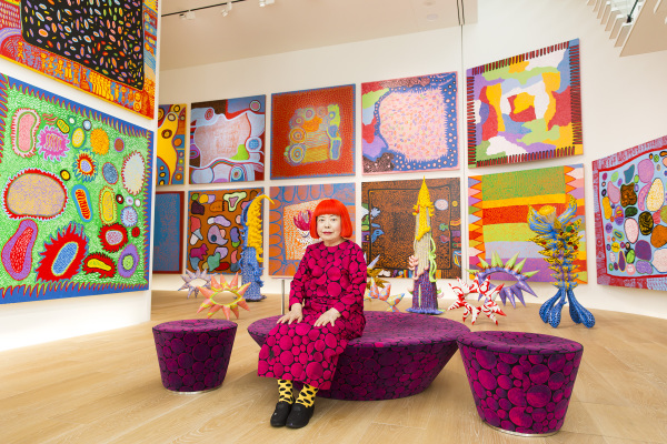 ENDLESS LEGEND: Yayoi Kusama's 'Infinity Mirrors' provides color and images that extend to infinity and beyond. PHOTO CREDIT: Courtesy High Museum of Art.