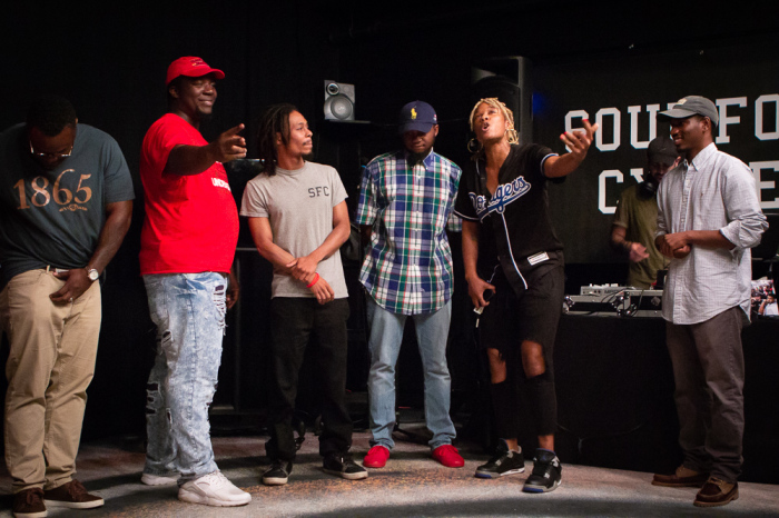 LYRICS TO GO: Soul Food Cypher keep it fresh, new, and relevant. PHOTO CREDIT: Joy Jihyun Jeong.