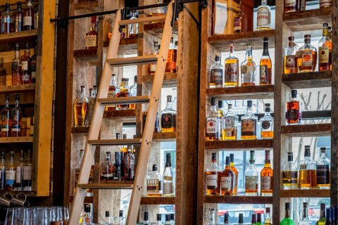 Brookhaven Bourbon Shelves 3