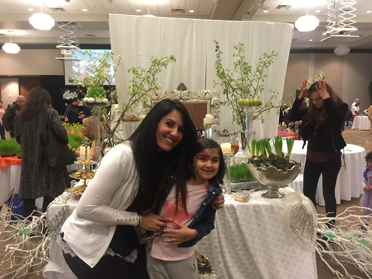 2017 Bazaar Before Persian New Year Arranged By Kanoon And Hosted At Lanier Tech. Photo by Samira Bregeth.